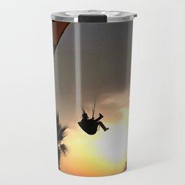 Dropzone At Dusk Travel Mug