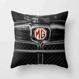 MG Grill Badge Throw Pillow