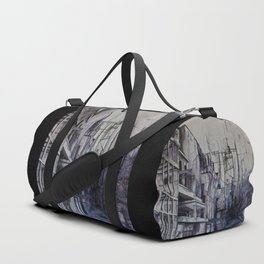 Invisible city Duffle Bag