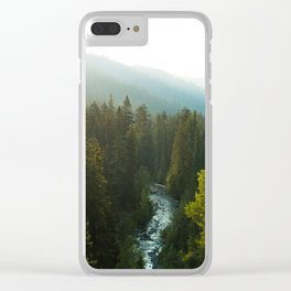 Teanaway River Clear iPhone Case