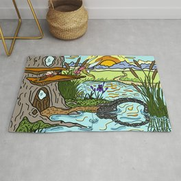 Fishing for Trouble Rug