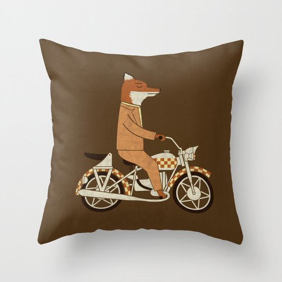 Wild Raider Throw Pillow