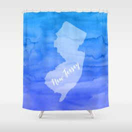 Sweet Home New Jersey Shower Curtain