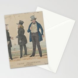 Three Loafers (Trois Originaux),1836–41 Stationery Cards