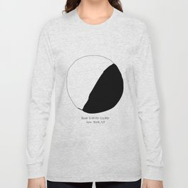 Black and White Cookie New York Long Sleeve T-shirt