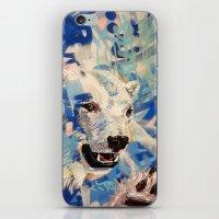 polar bear iPhone & iPod Skins featuring Polar Bear by Michael Hammond