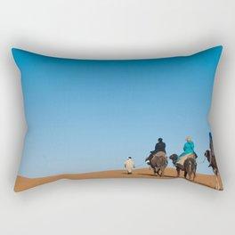 Desert Trek Rectangular Pillow