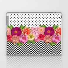 Floral, Dots and Chevron Laptop & iPad Skin