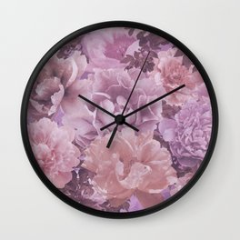 Dauphine Floral Wall Clock