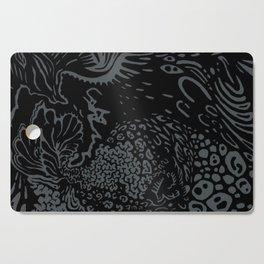 Shape Study: Black Coral Cutting Board