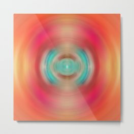 Life Source - Energy Abstract Art By Sharon Cummings Metal Print