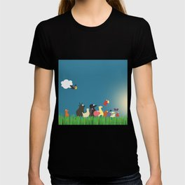 What's going on the farm? Kids collection T-shirt