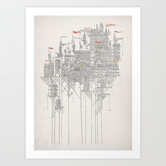 Zenobia the Invisible City Art Print