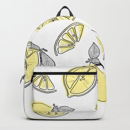 lemon squeezy Backpack