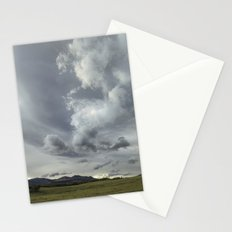 Landscape Photography | Waterton, Alberta | Clouds | Sunset Stationery Cards