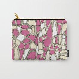 BROKEN POP pink Carry-All Pouch