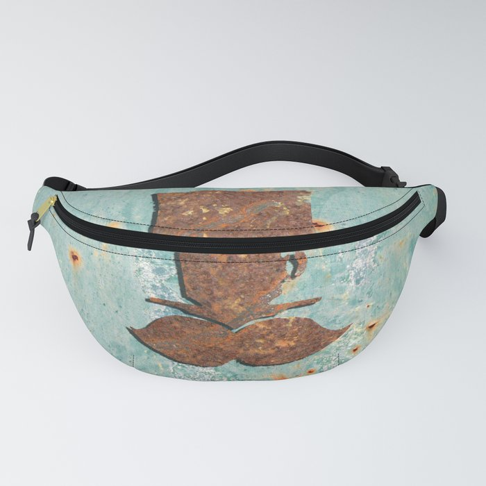 Rusty coffee shop sign Fanny Pack