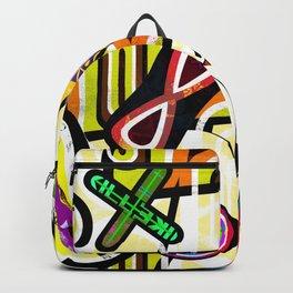 Urban_graffiti_002, street art mural Backpack