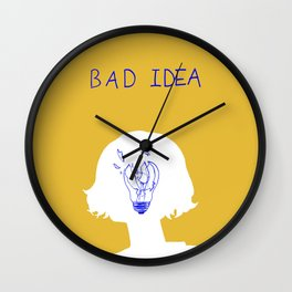 Bad Idea Wall Clock
