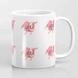 Lobster Dog Pattern Coffee Mug
