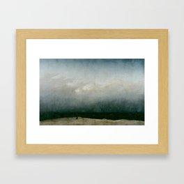 Caspar David Friedrich - The Monk by the Sea Framed Art Print