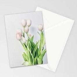 Minimal Tulips Stationery Cards