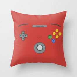 I love my N64! Throw Pillow