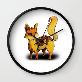 Animalphabet C | Cat Wall Clock
