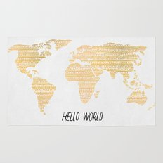 Hello World Rug