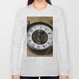 Vintage Antique Pocket Watch / Clock Long Sleeve T-shirt