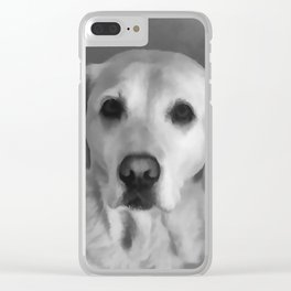 Cookies PLEASE! B&W Clear iPhone Case