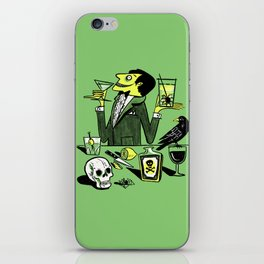 Drinks With The Mad Scientist Next Door iPhone Skin