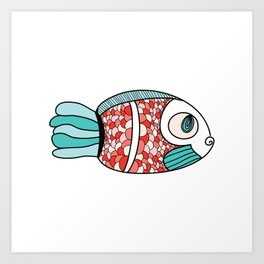 One Fish Art Print