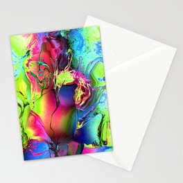 Psycho Flower Stationery Cards