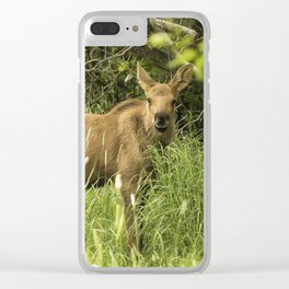 Moosedelicious, No. 1 Clear iPhone Case