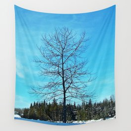Alone and Leafless Wall Tapestry