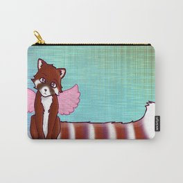 The Angel Red Panda Bear Carry-All Pouch