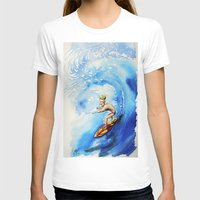 surfer T-shirts featuring Surfer by Jose Luis Ocana