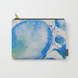 Blue Study Carry-All Pouch