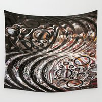 glass Wall Tapestries featuring Glass by KunstFabrik_StaticMovement Manu Jobst