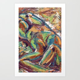 Embodiment Art Print