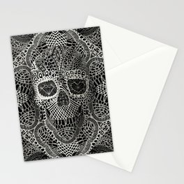 Lace Skull Stationery Cards