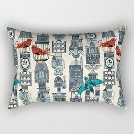 steampunk towers Rectangular Pillow