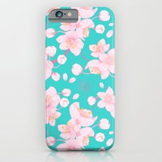 sakura blossoms Slim Case iPhone 6s