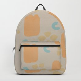 Abtract Brush strokes Backpack