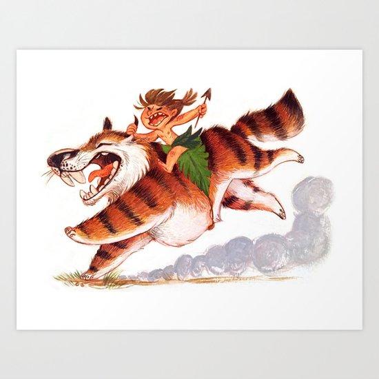 Wild Boy Art Print