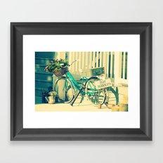 Just Married! Framed Art Print