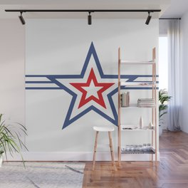 Stars & Stripes Kapow Wall Mural