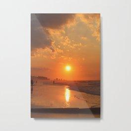 Sunrise on Myrtle Beach Metal Print