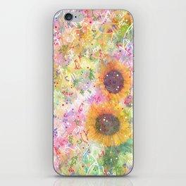Cosmic Helianthus - Sunflowers iPhone Skin